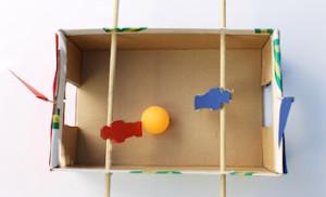 יצירת משחק – כדורגל שולחן